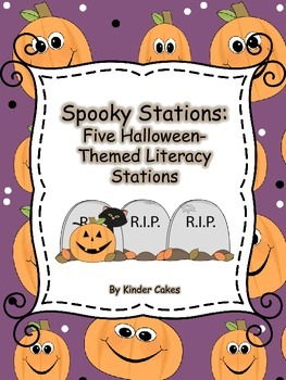 Spooky Stations: Five Halloween-Themed Literacy Stations