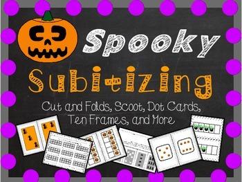 Spooky Subitizing - A Halloween Themed Math Set