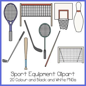 Sport Equipment Clipart