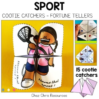 Sport cootie catchers / Fortune Teller