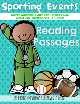 Non-Fiction Sports Reading Passages