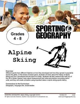 Sporting Geography Alpine Skiing