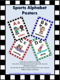 Sports Alphabet Posters