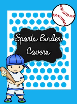 Sports Binder Covers