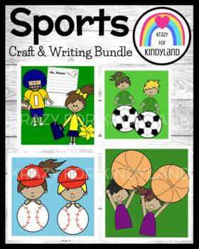 Sports Craft and Writing Pack: Baseball, Football, Soccer,