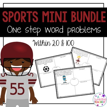 Sports Edition Mini Bundle: One Step Word Problems
