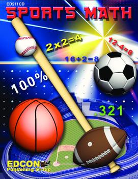 Sports Math Subtraction Lessons 3-5