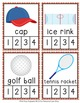 Sports Syllables Count and  Clip Cards