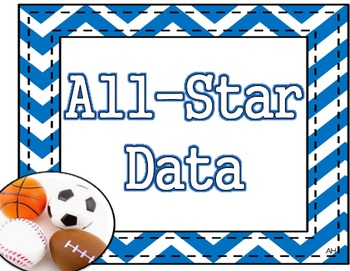 Sports Theme - All Star Data - Data Wall Poster