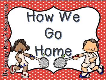 Sports Theme How We Go Home Display