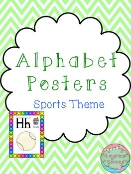 Sports Themed Alphabet Posters