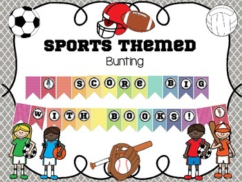 Sports Themed Bunting
