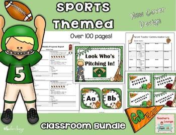 Sports Themed Classroom Bundle
