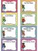 EDITABLE Sports Themed Classroom Passes