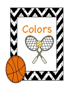 Sports Themed - Color Posters
