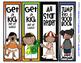 Sports Themed DARK SKIN CHILDREN Bookmarks - 16 Designs