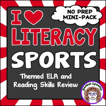 Sports Themed ELA and Reading Skills Review Mini-Pack - Mo