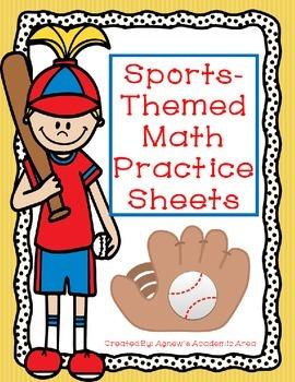 Sports Themed Math Practice