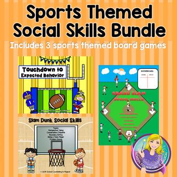Sports Themed Social Skills Bundle