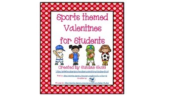 Sports Themed Valentine Cards