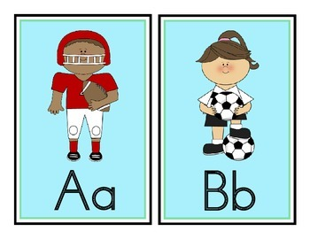 Sports Theme Word Wall Headers