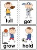 Sports Word Cards (3rd grade dolch)