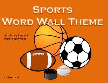 Sports Word Wall- Custom Order