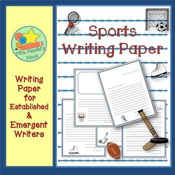 Sports Writing Paper for Emergent and Established Writers
