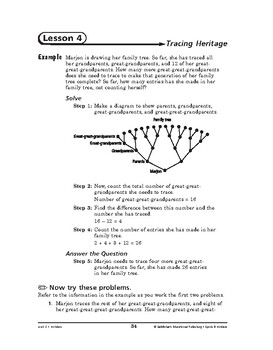 Sports and Hobbies Math: Hobbies-Tracing Heritage