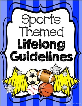 Sports-themed Lifelong Guidelines Bl.Y {Other colors avail