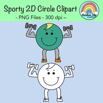 Sporty 2D Shapes Clipart - Free Download