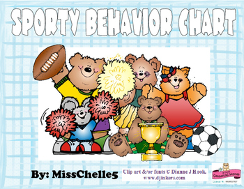 Sporty Behavior Chart