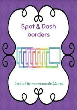 Spot & Dash borders / frames