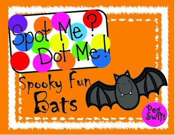 Spot Me Dot Me CVC Words ~ Bats