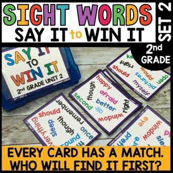 Spot That Word (2nd Grade Journeys Unit 2)