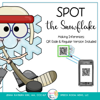 Spot the Snowflake: QR Code Inferencing activity for Speec