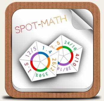 SpotMath - Spot*it for Percent, Decimal and Fraction - Adv
