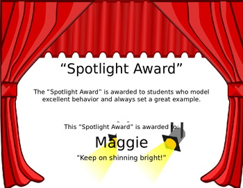Spotlight Award