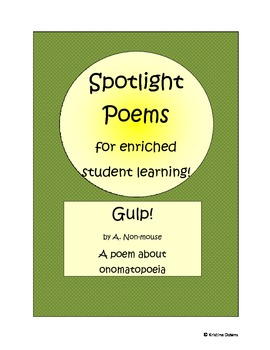 Spotlight Poems for Enriched Student Learning - Gulp - ono