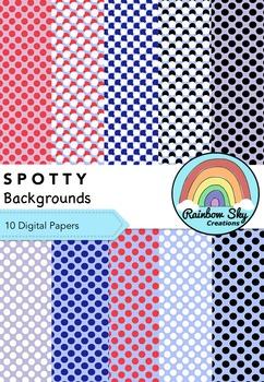 Spotty Backgrounds