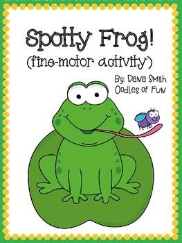Spotty Frog!