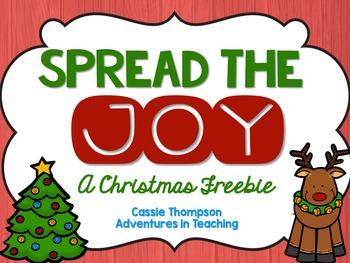 Spread the Joy- FREEBIE