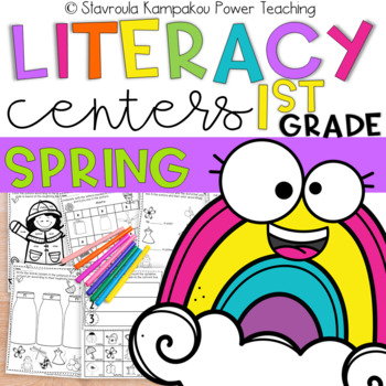 Spring Literacy Packet for Kindergarten