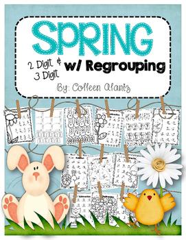 Spring 2 Digit & 3 Digit w/Regrouping