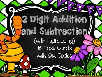 Spring 2 Digit Addition and Subtraction  (w/regrouping) Ta