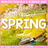 Spring Non-Fiction ELA & Science Unit