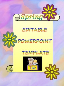 Spring Activities - Editable Template - Poster Activity -
