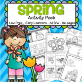 Spring Activities and Printables No Prep