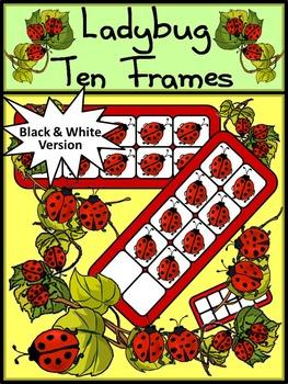 Spring Activities: Ladybug Ten Frames