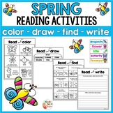 Spring Reading Activities